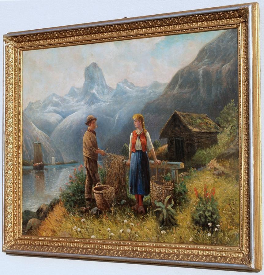 Fischer hallst ttersee adolf baumgartner 1850 1924 umkr ebay for Fenster 75x90